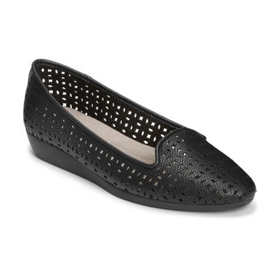 A2 by Aerosoles Womens Parchment Slip-On Shoe Round Toe