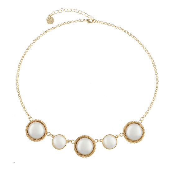 Monet Jewelry 90th Anniversary Womens Collar Necklace