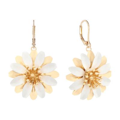 Monet Jewelry 90th Anniversary Drop Earrings