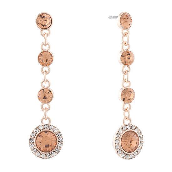 Monet Jewelry 1 Pair Orange Drop Earrings