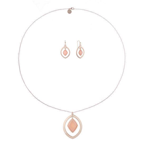 Liz Claiborne 2-pc. Pink Jewelry Set