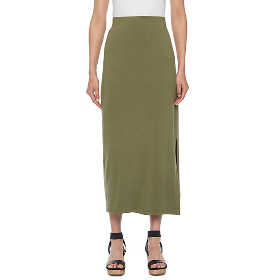 Liz Claiborne Womens Maxi Skirt - Tall