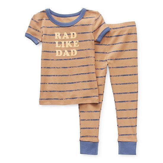 Okie Dokie Toddler Boys 2-pc. Pant Pajama Set