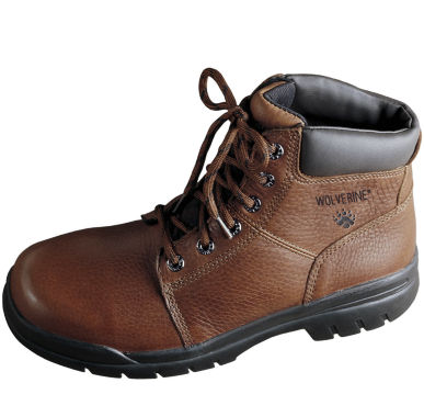 "Wolverine® Marquette Mens 6"" Slip-Resistant Work Boots"