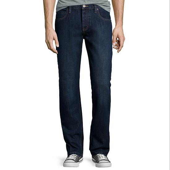 Dickies® X-Series Button Fly Regular Fit Straight Leg 5-Pocket Denim Jeans