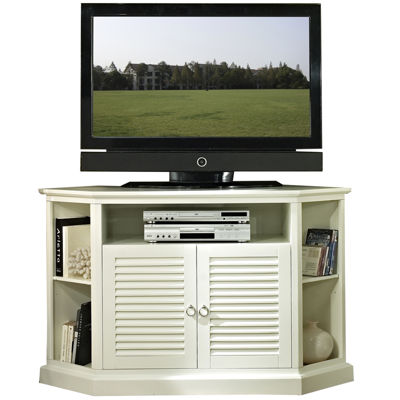"Kilgore 52"" Black Corner Entertainment Center"