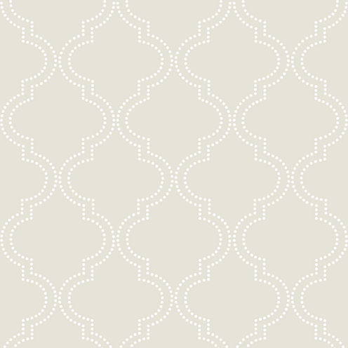 Quatrefoil Peel-and-Stick Wallpaper