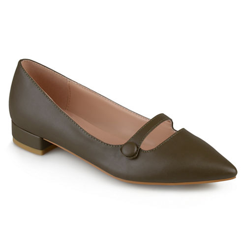 Journee Collection Vasha Womens Ballet Flats