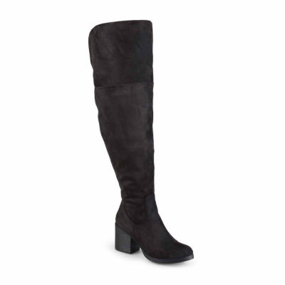 Journee Collection Sana Wide Calf Womens Boot