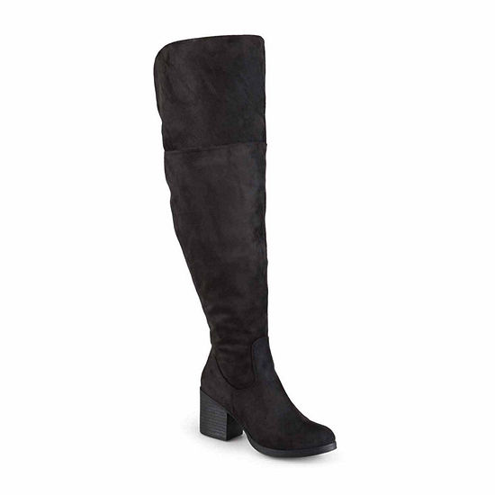 7ff05e656125 Journee Collection Sana Wide Calf Womens Boot JCPenney