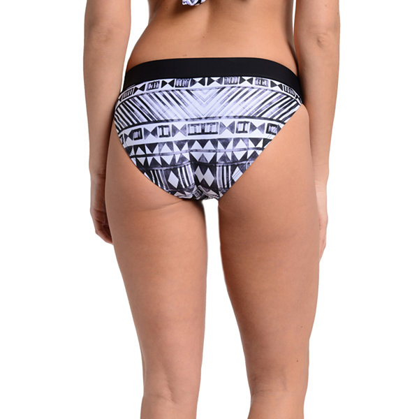 Fleetstreet Collection Geometric Bikini Swimsuit Bottom
