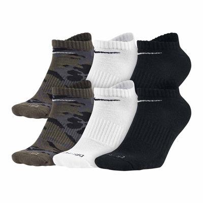 Nike® Mens 6-pk. Dri-FIT Mix Camo No Show Socks