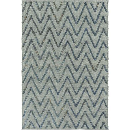 Decor 140 Petar Rectangular Indoor Rugs, One Size , Blue