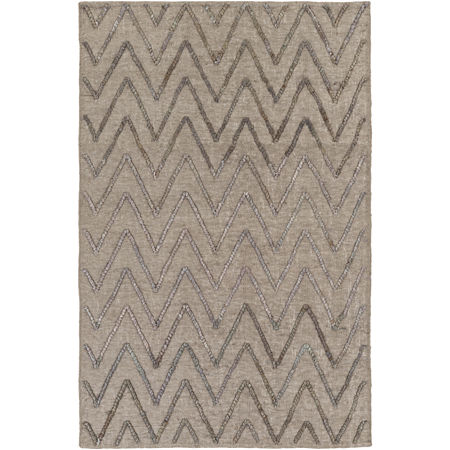 Decor 140 Petar Rectangular Indoor Rugs, One Size , Gray