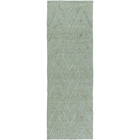 Decor 140 Petar Rectangular Indoor Rugs, One Size , Green