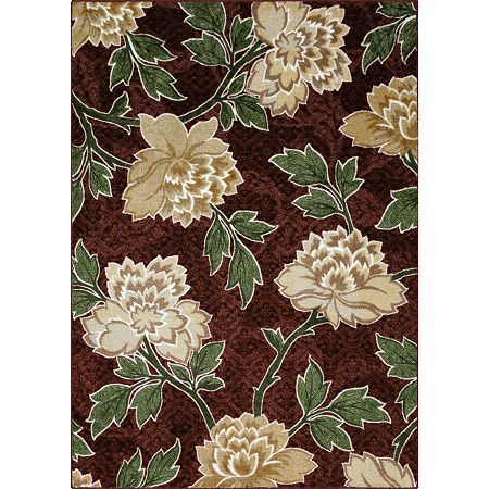 JCPenney Home Taryn Rectangular Rug, One Size , Brown