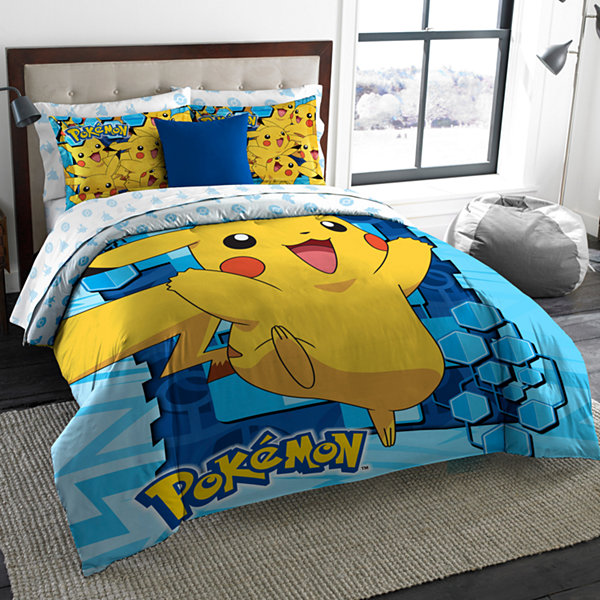 Pokemon 3-pc. Big Pika Lightweight Comforter Set