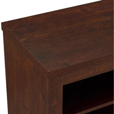 "52"" Highboy Console TV Stand with Open Storage"