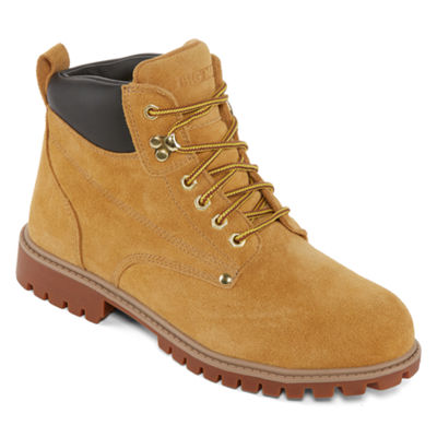Big Mac Mens Spokane Slip Resistant Work Boots Lace-up