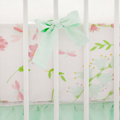My Baby Sam Spring Floral Crib Sheet