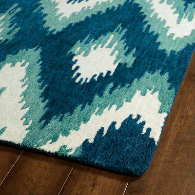 Kaleen Global Inspiration Ikat Rectangular Rug
