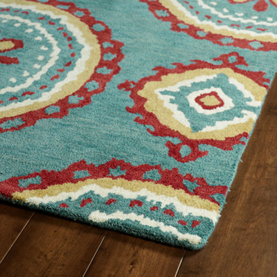 Kaleen Global Inspiration Roasas Rectangular Rug