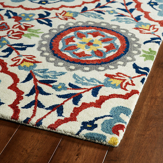 Kaleen Global Inspiration Suzani Rectangular Rug