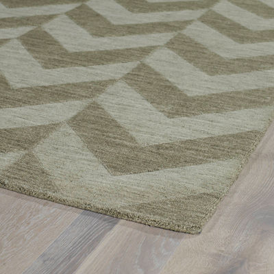 Kaleen Imprints Modern Chevron Rectangular Rug