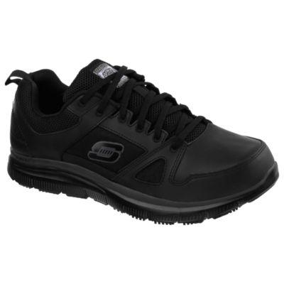 Skechers Mens Flex Advantage Slip-On Shoe Round Toe-Wide Width