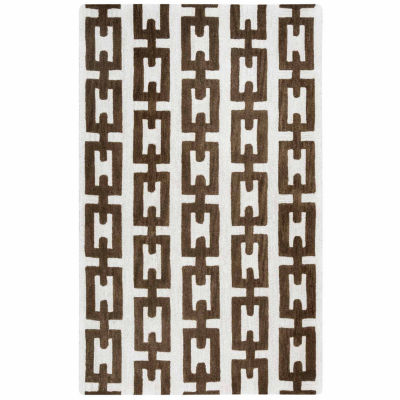 Rizzy Home Caterine Collection Everly Geometric Rectangular Rugs