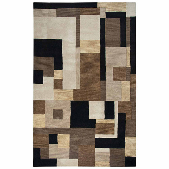Rizzy Home Craft Collection Valeria Color Block Rugs