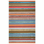 Rizzy Home Eden Harbor Collection Valerie Stripe Rectangular Rugs