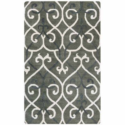Rizzy Home Opus Collection Sienna Geometric Rectangular Rugs