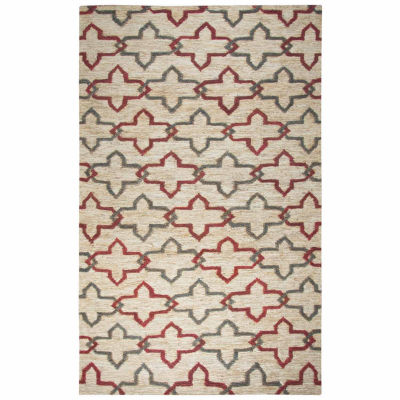 Rizzy Home Whittier Collection Kaydence Geometric Rectangular Rugs