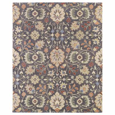 Kaleen Helena Meadow Hand-Tufted Wool Rectangular Rug