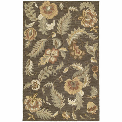 Kaleen Khazana Lawrence Hand-Tufted Wool Rectangular Rug