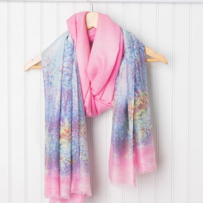 Design Imports Skinny Abstract Scarf
