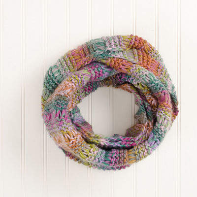 Design Imports Stripe Infinity Cold Weather Scarf