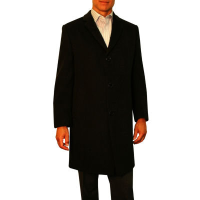 Jean Paul Germain Sander Wool Blend Topcoat - Big & Tall