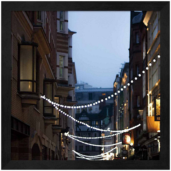 Metaverse Art Lights in Soho