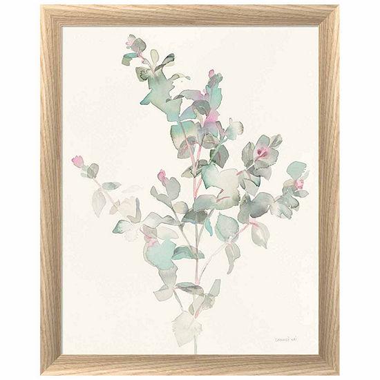 Metaverse Art Eucalyptus Ii Framed Print