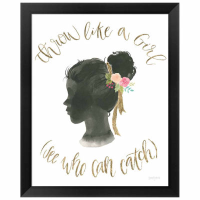 Metaverse Art Girl Power VIII Framed Print