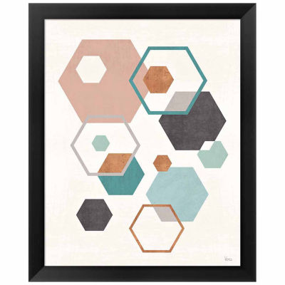 Abstract Geo III Framed Print