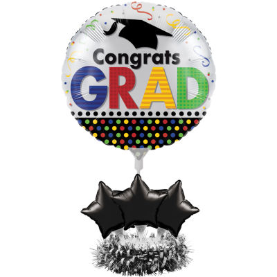 Creative Converting Graduation Balloon Centerpiece Kit