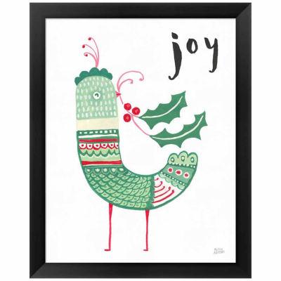 Metaverse Art Christmas Tweets II Framed Print