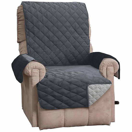 Great Bay Home Reversible Quilted Recliner Protector