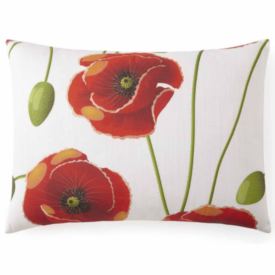 Poppy Plaid Pillow Sham