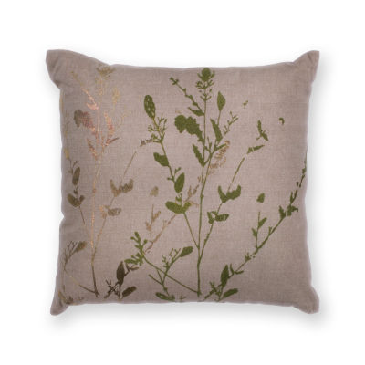 Kas Branch Square Throw Pillow