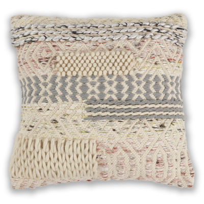 Kas Cabo Square Throw Pillow