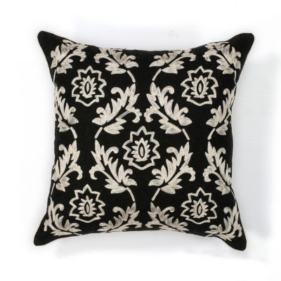 Kas Finesse Square Throw Pillow